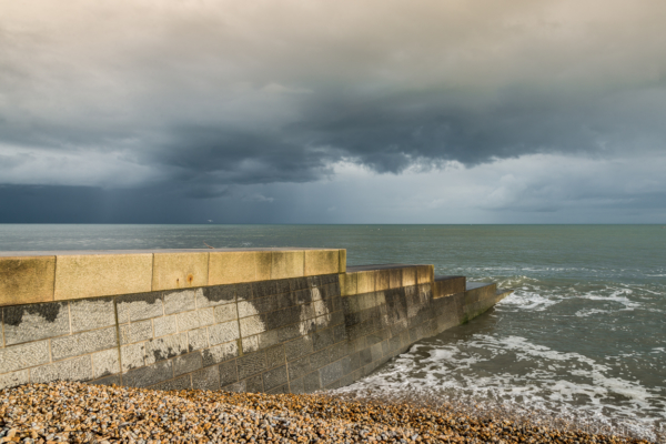 Stormy-cloudscape-and-evening-sun-from-Cobb-Gate-Beach,-Lyme-Regis-27_04_14-5-v2