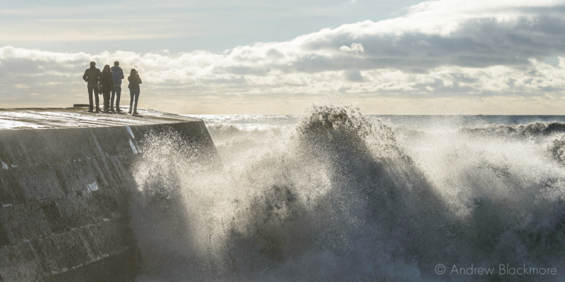 Stormy-sea-at-the-Cobb-from-Monmouth-Beach,-Lyme-Regis-20_11_16-9-pan