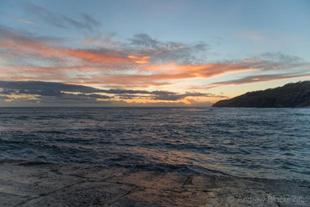 Sunset-from-the-Cobb,-Lyme-Regis-25_12_12-2