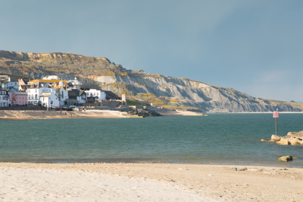 The-seafront-and-Black-Ven-from-Main-Beach,-Lyme-Regis-27_04_13-1