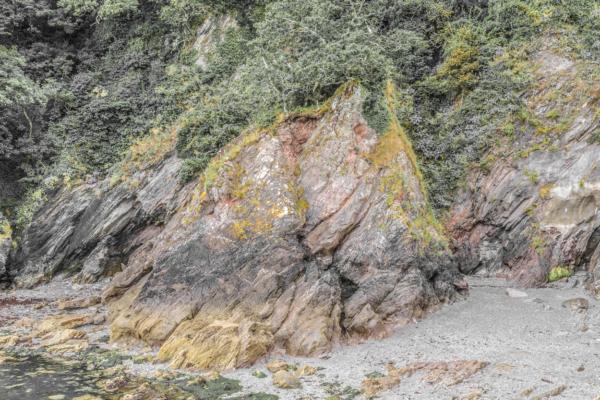 Castle Cove Rock Face, Dartmouth 07_08_15 2