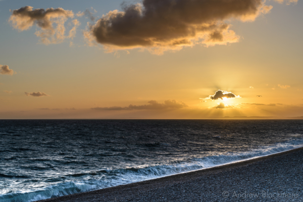 Portland-sunset-from-The-Cove-Inn,-Chiswell-31_05_15-1