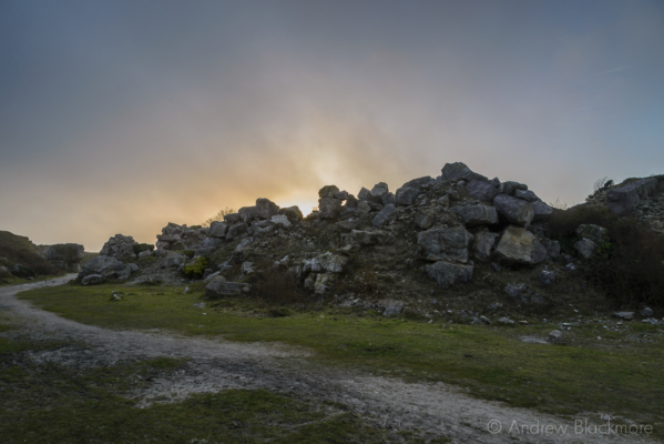 Portland-sunset-from-inside-Tout-Quarry-21_02_16