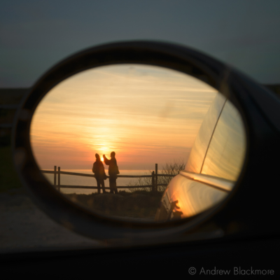 Portland-sunset-in-Mini-wing-mirror-from-New-Ground-22_03_15-1-sq
