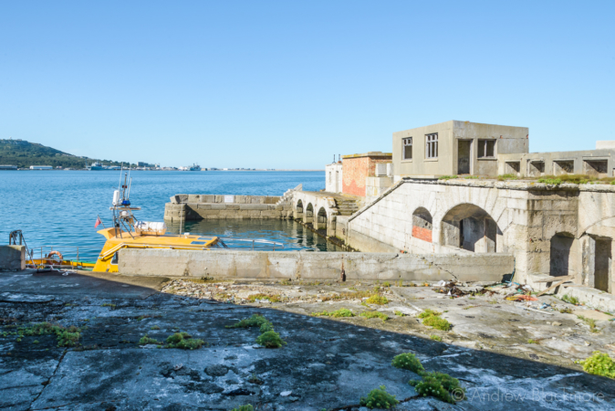Portland-the-Breakwater-Fort-quayside-arches-and-buildings-from-upper-level-26_08_16-2-crop