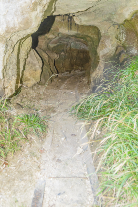 Portland-tunnel-with-mini-rail-in-East-Weare-cliffs-below-The-Grove-06_09_15-2