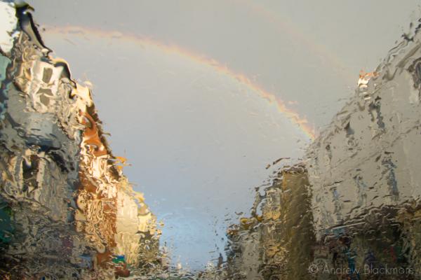 Rainbow-through-rainy-windscreen-Broad-Street,-Lyme-Regis-27_04_13