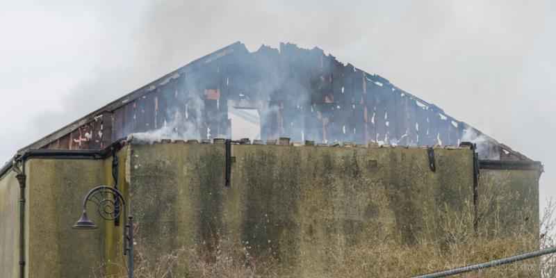 Regent-Cinema-fire-aftermath-from-Langmoor-Gardens,-Lyme-Regis-22_03_16-3