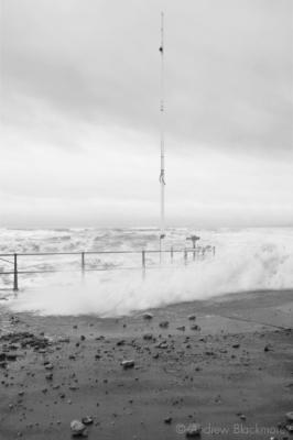 Storm-waves-&-rocks-Charmouth-beach-carpark-11_11_10-1-b&w