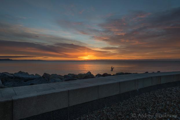 Sunrise-from-Cobb-Gate-Beach,-Lyme-Regis-30_11_12-1