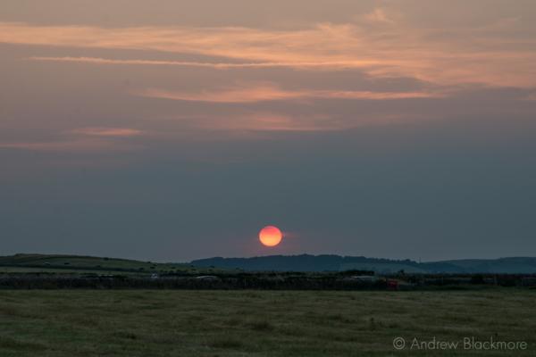 Sunset-from-Greystones Burton-Bradstock-cliffs-18_07_13-2