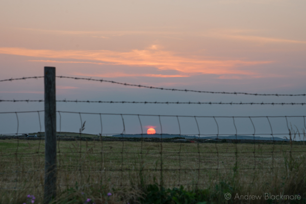 Sunset-from-Greystones Burton-Bradstock-cliffs-18_07_13-4
