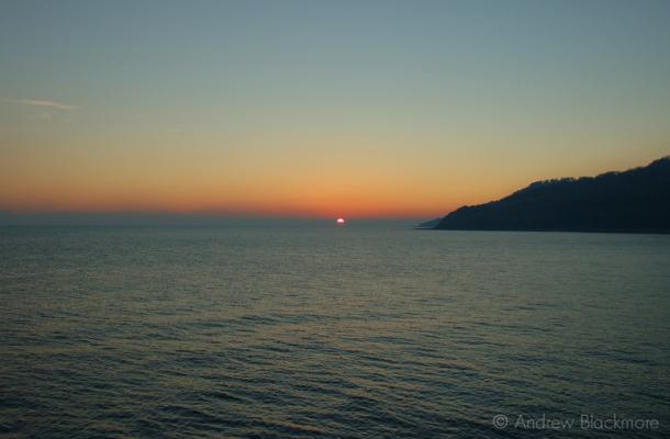 Sunset-from-the-Cobb,-Lyme-Regis-21_11_05-2