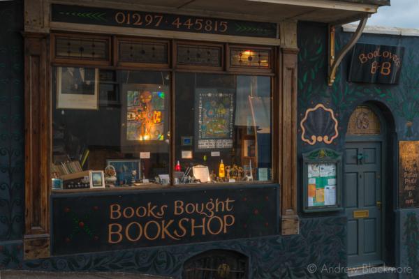 The-Sanctuary-Bookshop,-Lyme-Regis-(early-morning)-19_11_12-1